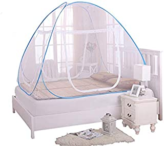 蚊帳 収納式ワンタッチ モスキートネット ワイド 底付きタイプ 無農薬 持ち運びラクラク