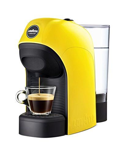 Lavazza LM800 Tiny Independiente Máquina de café en cápsulas 0,75 L Semi-automática - Cafetera (Independiente, Máquina de café en cápsulas, 0,75 L, Cápsula de café, 1450 W, Negro, Amarillo)