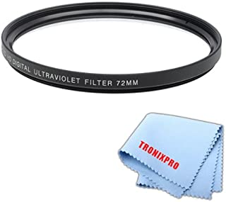 Ultraviolet UV Multi-Coated HD Glass Protection Filter for Canon EF 85mm f//1.2L II USM Lens