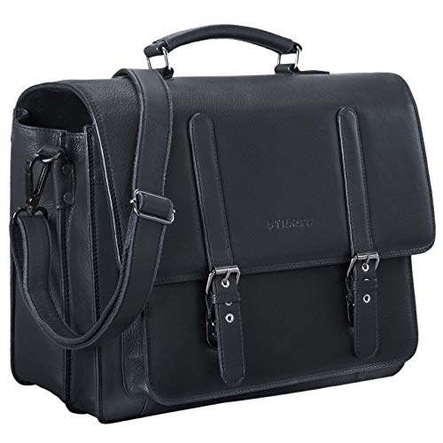 STILORD 'Andro' Sac Enseignant Homme Cuir Vintage...