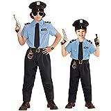 WIDMANN 04026Niños Disfraz de policía, 128