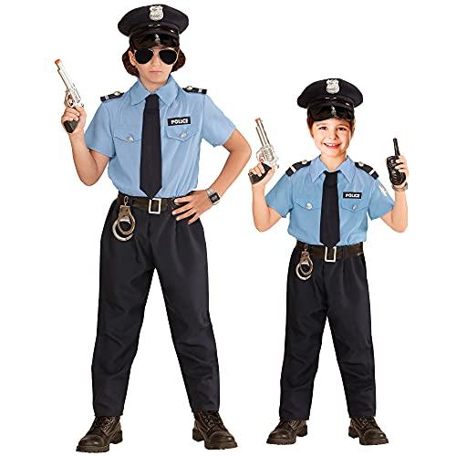 WIDMANN 04027Niños Disfraz de policía, 140