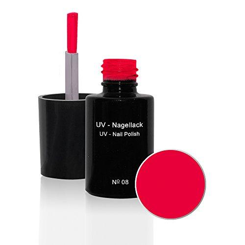 UV Vernis à ongles N°08 Hot Neon Pink 6ml