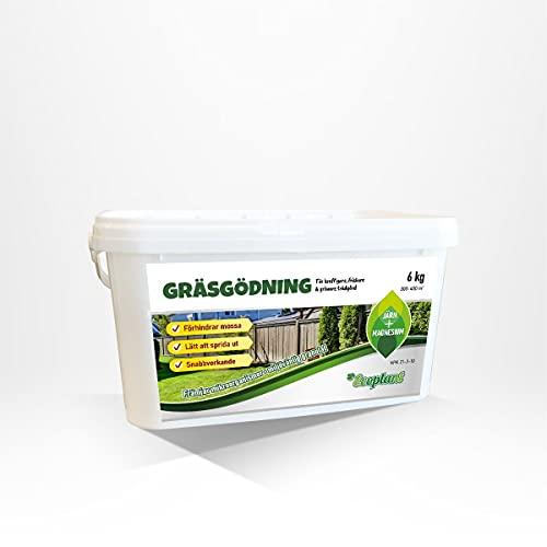 gräsgödning byggmax