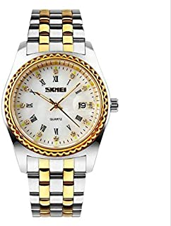 skmei Casual Watch For Men Analog Stainless Steel - 9101