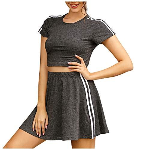 ✿HebeTop✿ Short Sleeve Wrap V Neck Casual A Line Halloween Dress Party Dress
