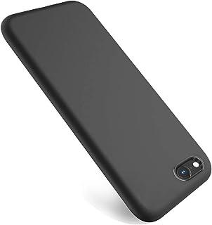 Wsky iPhone 8Plusケース 衝撃吸収 すり傷止め iPhone 7Plusケース 高級感 軽 薄 TPU素材 防水 アイフォン カバー ワイヤレス充電支持 (ブラック)