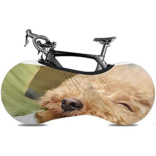 L.BAN Sweet-Heart Fahrrad Radabdeckung, langlebige Kratzfeste Protect Gear Reifen Fahrradabdeckung - Funny Quote Animal Words - Smile Puppy Dog