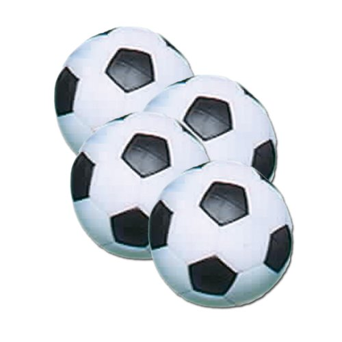Fat Cat 36 mm Regulation Size Foosballs, Soccer Style, 4 Pack