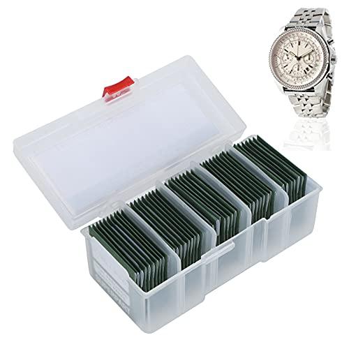 Junta de sellos de reloj, práctica ecológica, junta tórica de reloj estable para taller de reparación de relojes para aficionados