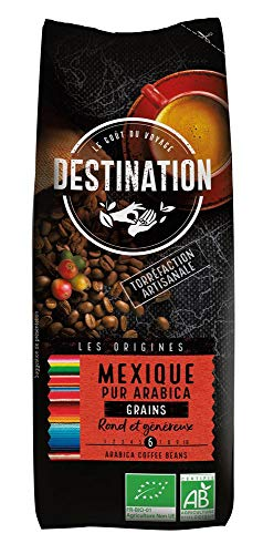 Destination Organic Coffee Beans Mexico Chiapa 250g (Case of 12)