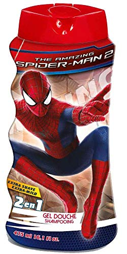 Spiderman 2-in-1 douchegel en shampoo (3 x 1 pak)