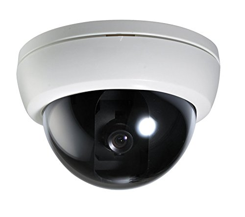 Security Camera Indoor Wired Analog Dome Camera 600TVL 3.6mm Fixed...