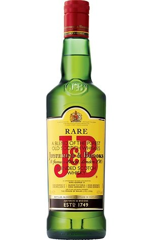 J & B Rare Blended Scotch Whisky Justerini & Brooks 0,7 L