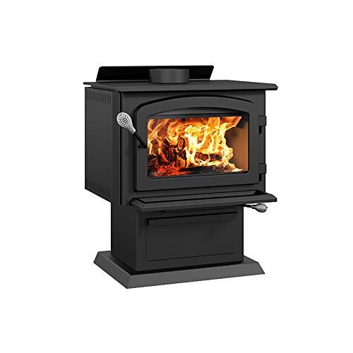 Drolet Blackcomb II Medium 2020 EPA Certified Wood Stove - 60,000 BTU – 1,800 sq.ft, Model# DB02811