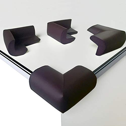 [8 Stück] Eckenschutz und Kantenschutz, Canwn Weicher Schaum Stoßschutz für Tisch und Möbel Ecken Geruchsneutral Dick Tischkantenschutz für Baby und Kinder