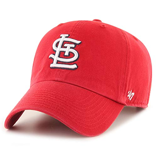 '47 Brand St. Louis Cardinals Clean Up Hat Cap Red/White
