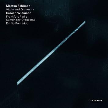 フェルドマン:ヴァイオリンとオーケストラ
