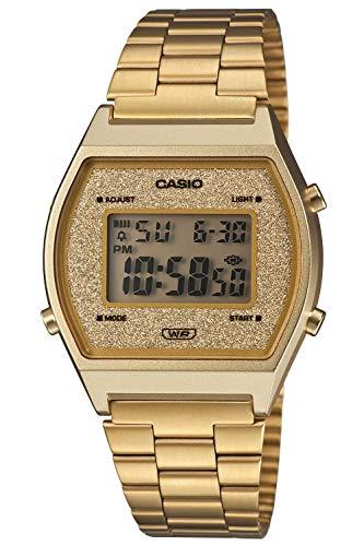 Casio Reloj Digital para Unisex Adulto de Cuarzo B640WGG-9EF
