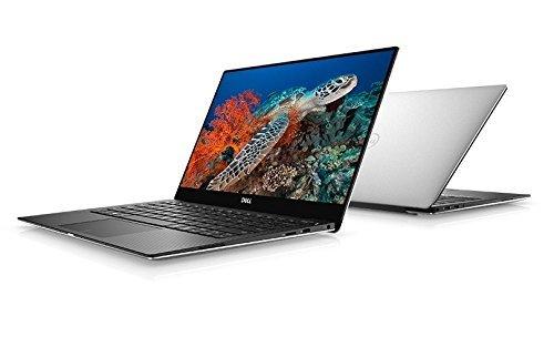 Brand New 2018 Dell XPS 9370 Laptop, 13.3in UHD InfinityEdge Touch Display, 8th Gen Intel Core i7-8550U, 8GB RAM, 256 GB SSD, Fingerprint Reader, Windows 10, Silver (Renewed)