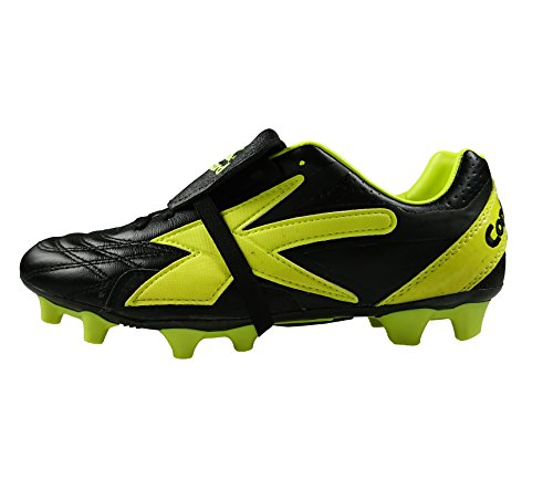 Concord Leather Soccer Cleats Style S132XN (9) Black
