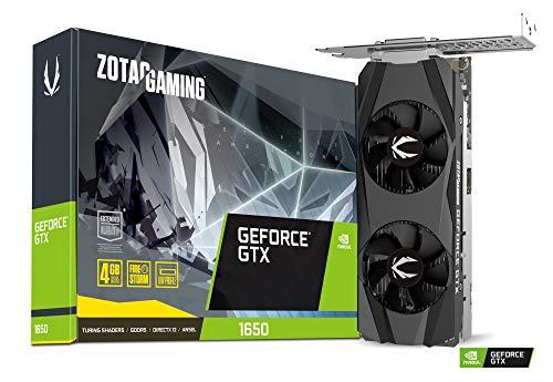 ZOTAC ゾタック GAMING GeForce GTX 1650 LP グラフィックスボード VD7014 ZT-T16500H-10L