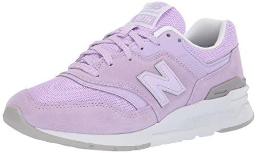 New Balance Damen 997H Sneaker, Pink (Light Cyclone/White), 41.5 EU