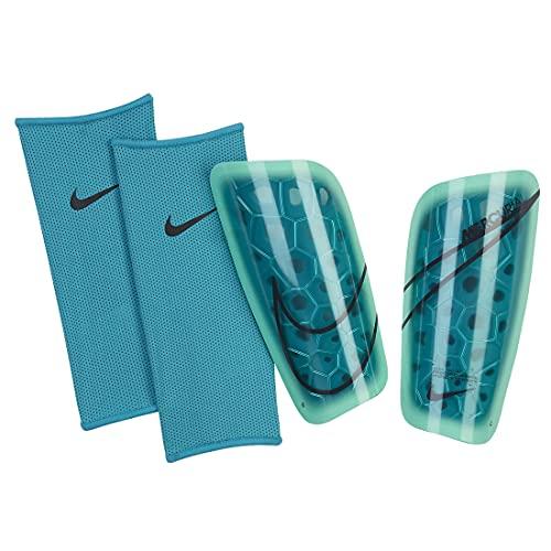 Nike Unisex– Erwachsene Mercurial Lite Schoner, Aquamarine/Green Glow/Off Noir, M