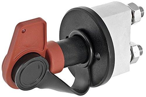 HELLA 6EK 002 843-141 Hauptschalter, Batterie - Drehbetätigung - 24V - Anschlussanzahl: 2 - geschraubt - Form: rund