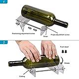 Utensile da Taglio per Bottiglie di Vetro Professionale per Taglio di Bottiglie Utensile d...