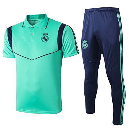 LQRYJDZ Corriente de compresión para hombres Trajes de traje de jogging Conjunto de deportes, gimnasio seco rápido Gimnasio Gimnasio Yoga Trajes de yoga Real Madrid Fútbol Competencia Equipo SportSwea