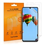 kwmobile Set de 3X película Transparente Compatible con Samsung Galaxy A41 - Pack de Protectores de Pantalla para móvil