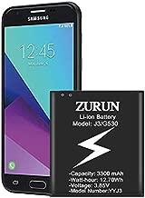 Galaxy J3 Battery ZURUN 3300mAh Battery Replacement for Samsung Galaxy J3 J320V J320A J320F J320P EB-BG530 EB-BG530BBU Galaxy J3 Luna Pro Battery/Galaxy Grand Prime Battery [2 Year Warranty]