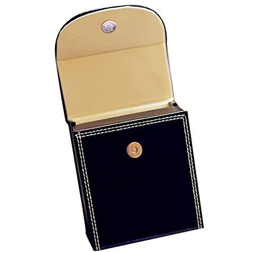 XIANWEI Caja de Joyas Antiguas portátil Plegable portátil de Anillo de Diamantes de joyería joyero