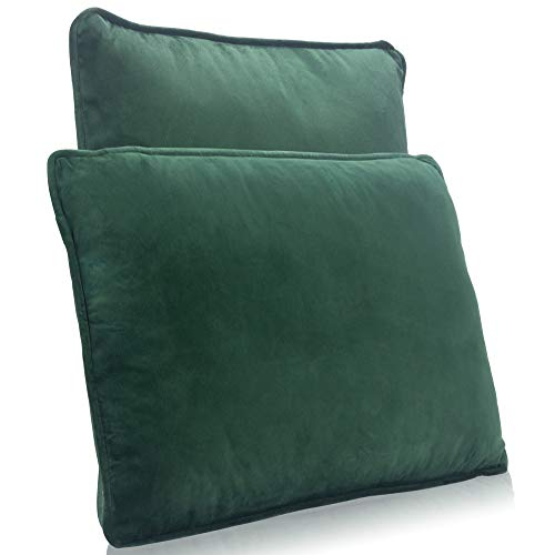 DYNMC you Cushions for Sofa for highest Comfort - Velvet Cover and Cushion Pads Inserts with Perfect Filling - Cushion Inner Filled with Velvet Cover