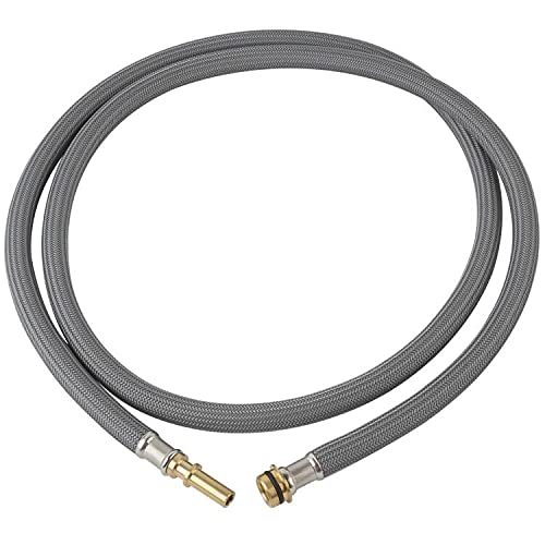 88624000 Kitchen Faucet Hose Replacement for Hansgrohe, Axor Pulldown Replacement Sink Hose 95507000/ 95506000 Compatible with Hansgrohe Kitchen Faucets, Pull-Out Replacement Hose Kit 59 Inch