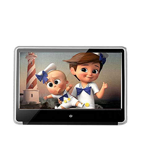 T ECH 11,6-inch High-Definition LCD-scherm, infrarood touch-hoofdsteunen-DVD-display, geïntegreerde functies: DVD, AV, USB, SD-autobatterij, audio-uitgang, FM-audio-uitgang