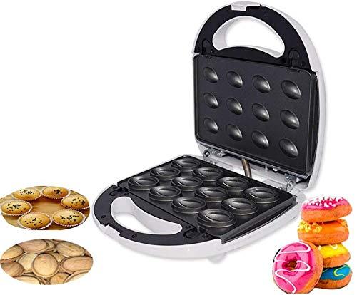 Mdcgok Máquina de Pastel de gofres para el hogar 4 en 1 Máquina de rosquillas Máquina de nueces Electrodomésticos pequeños electrodomésticos de Cocina multifunción