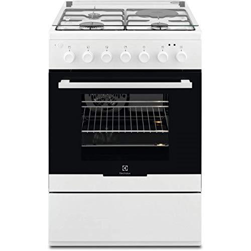 Electrolux - ekm60398ow - Cuisinière mixte a 54l 4 feux blanc