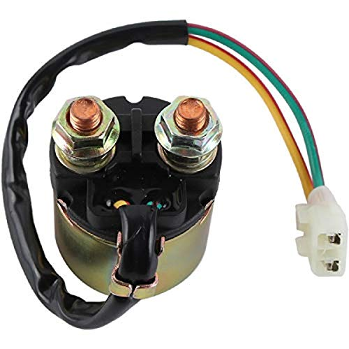 DB Electrical SND6073 Starter Solenoid Relay Repalcement For Honda ATV TRX350/TRX400/TRX450/TRX500 FourTrax Foreman 700 35850-HM7-000