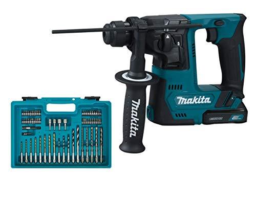 Makita HR140DSYE1 HR140DSYE1-Martillo con batería, Azul, Size