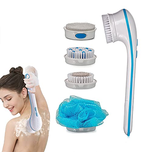 Top 10 Best bath spa massager electric vibration spin shower brush cleaning set body massage scrubber Reviews
