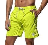 SHEKINI Homme Short de Bain Séchage Rapide Maillot de Bain Shorts de Plage Été De Plein Air Beach Shorts pour Surf Board Shorts...
