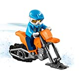 LEGO 2018 City Minifigure: Arctic Snowmobile Driver (with Cool Snowmobile) 60195