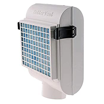 BetterVent Indoor Dryer Vent - Protects Indoor Air Quality and Saves Energy Electric Dryers Only Kit Includes Lint Filter