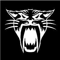 5 ピース バンパーステッカーデカール15.2 * 13.1CM猫面白い漫画ウィンドウデコレーションビニールデカールボディデコレーションカーステッカー