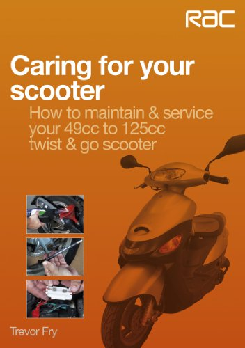 Caring for your scooter – How to maintain & service your 49cc to 125cc twist & go scooter (English Edition)