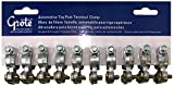 (10) Automotive Heavy Duty Top Post Battery Cable End 6-2/0 Wire Terminal Clamp