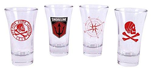 Uncharted Shotglass Set