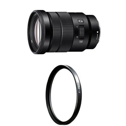 Sony SELP18105G E PZ 18-105mm F4 G OSS with Clear UV Haze